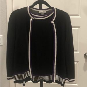 Dressbarn shell and cardigan size L